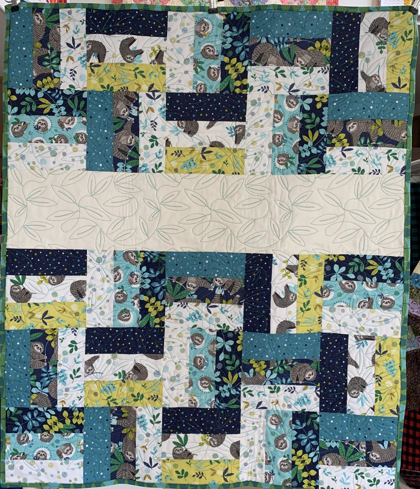 Sloth Baby Quilt