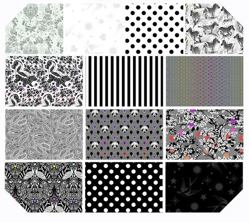 Linework Fat Quarter Bundle (13) Pre-Order Available Fall 2020