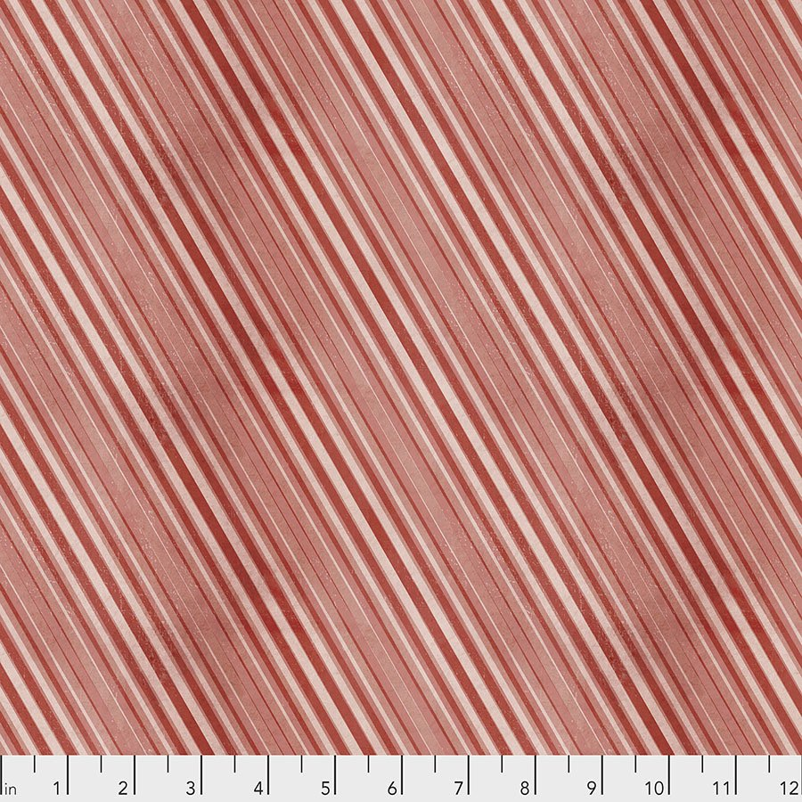 Yuletide - Peppermint Stripes - Red