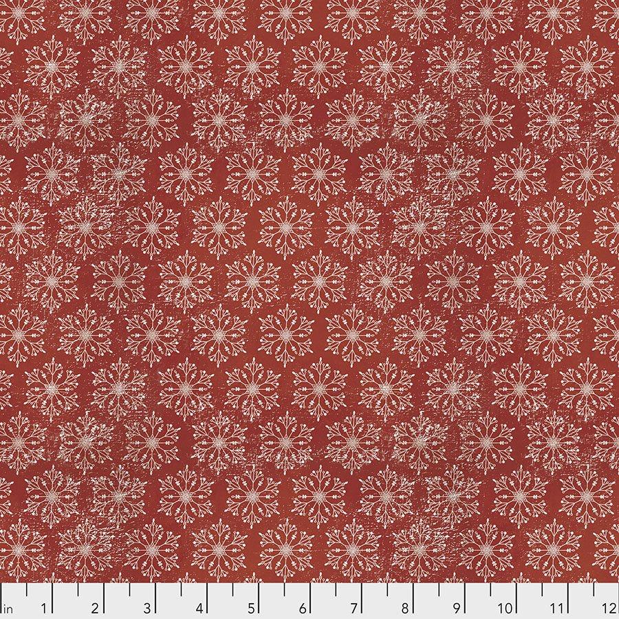 Yuletide - Snowflakes - Red