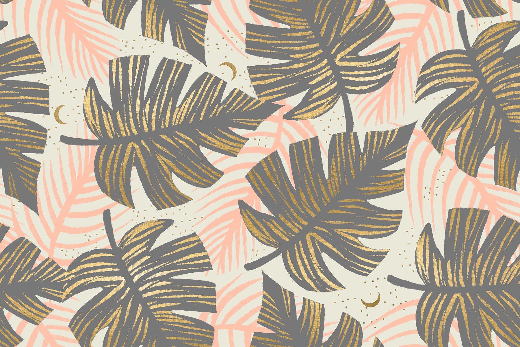 Florida - Shade Palms - Slate Grey