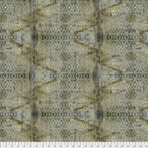 Abandoned - Stained Damask - Neutral