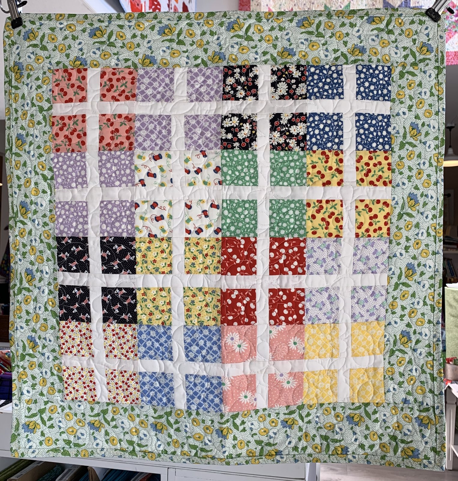 Stained Glass Window Mini Quilt
