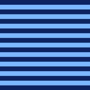 Tabby Road - Tent Stripe - Bluebird