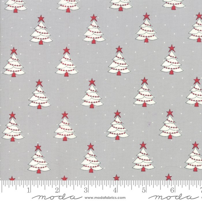 Country Christmas - Trees - Dusty Grey