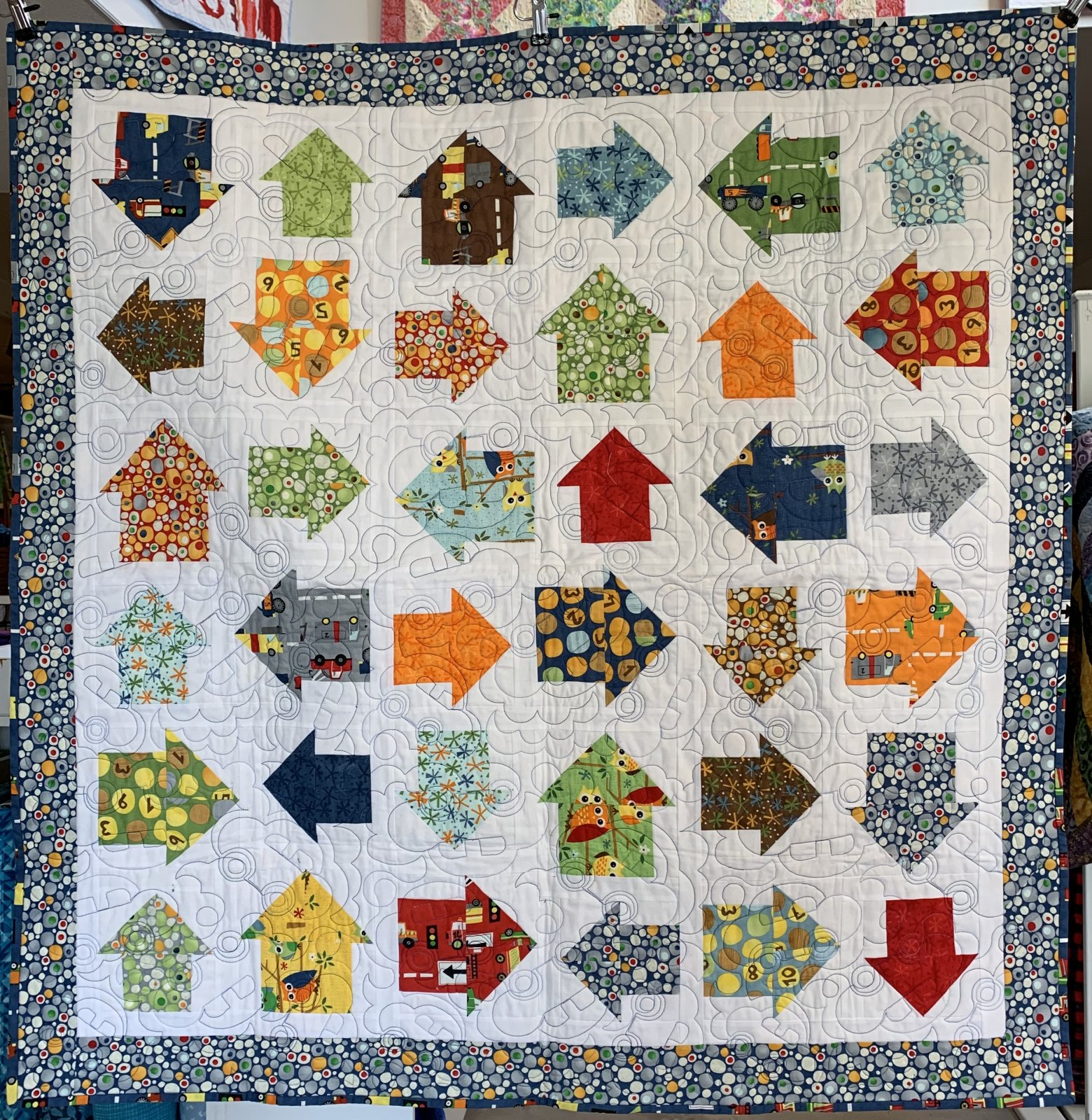 Which Way? Baby Quilt