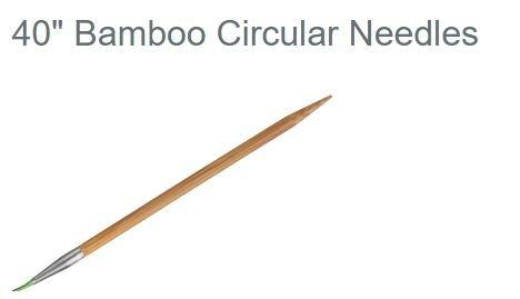 HiyaHiya Circular 40 Bamboo Knitting Needles US 0-15