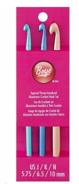 Boye Aluminum Crochet Hook sets