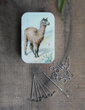 Llama & Sheep Knit Kits