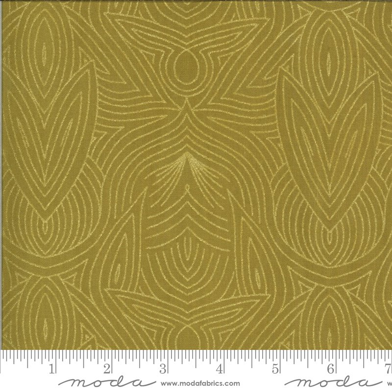 Dwell in Possibility - Nouveau - Umber/Gold