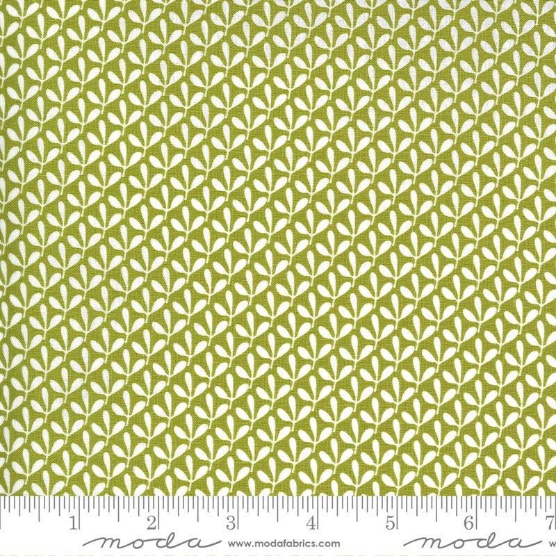 Spring Chicken - Leaves - Green