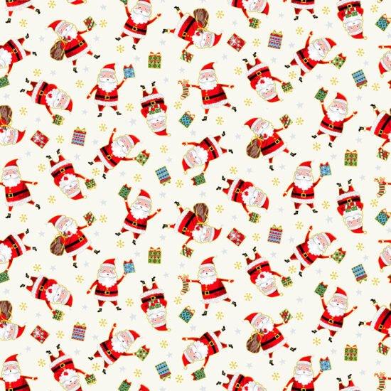 Santa Express - Santa Toss - White