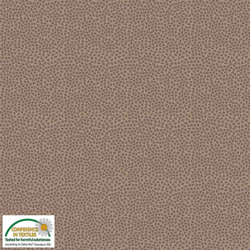 Quilters Combination - Triangles - Brown