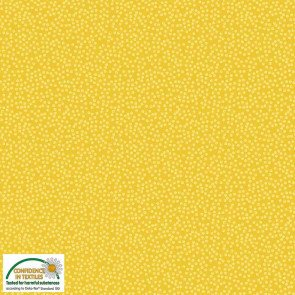 Quilters Combination - Tiny Dots - Yellow