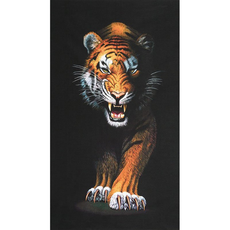 Animal Kingdom Tiger Panel
