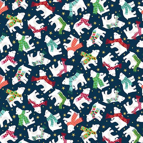 Santa Express - Polar Bears - Navy