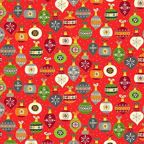 Santa Express - Ornaments - Red