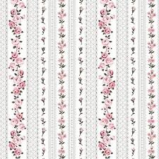 Amy Roses - Roses Lace Stripe - Grey