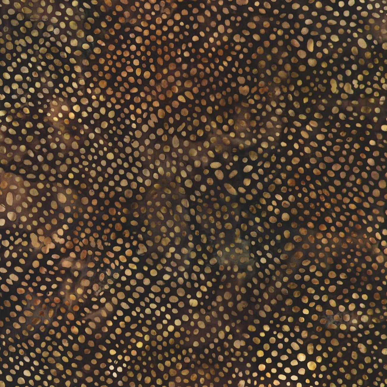 Serengeti Batiks - Dots - Mocha