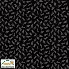 Quilters Combination - Black/Grey