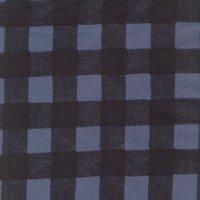 Wild Life Flannel - Plaid - Denim