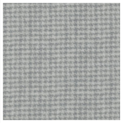 Woolies Flannel - Houndstooth - Light Grey