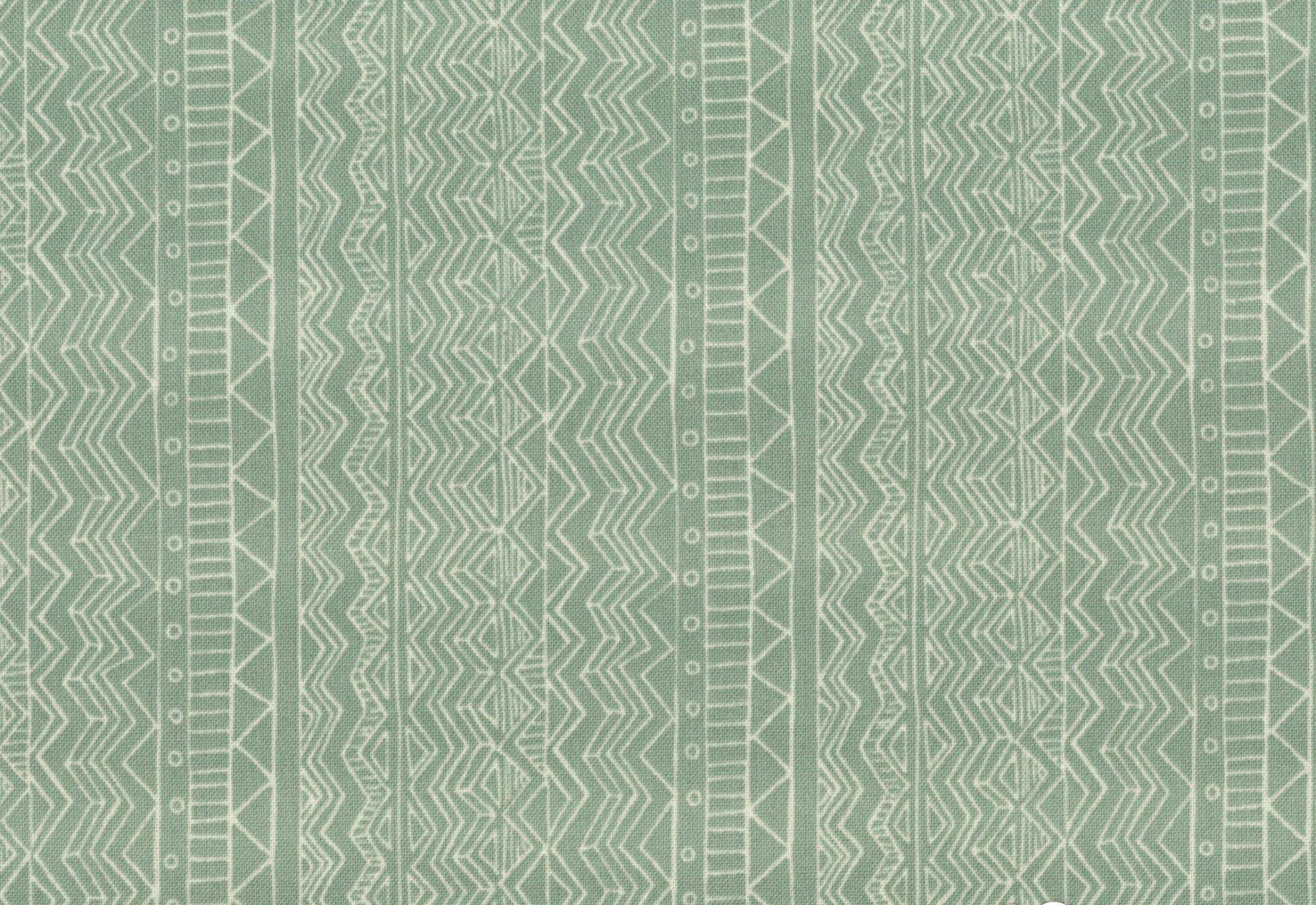 Home Tweet Home - Stripes - Green