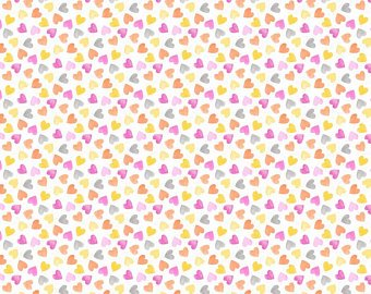 Raindrops & Sunshine - Hearts - Pink
