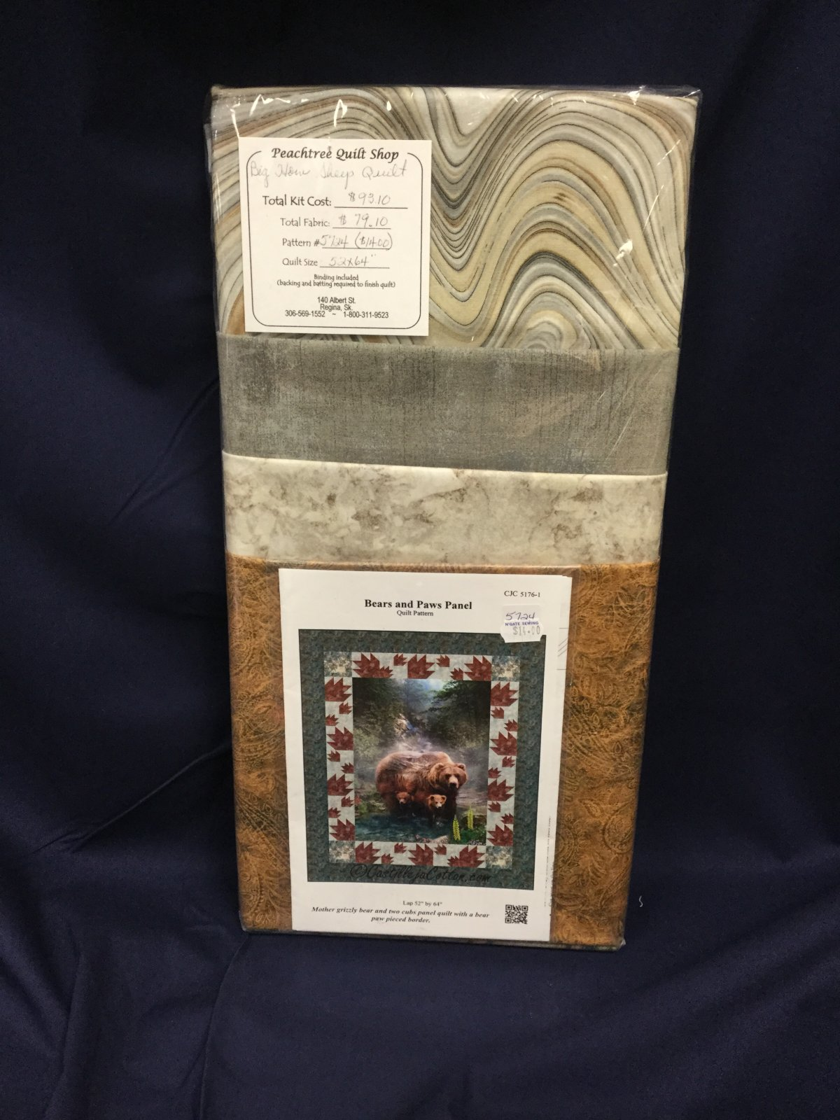 Bears & Paws Quilt Kit