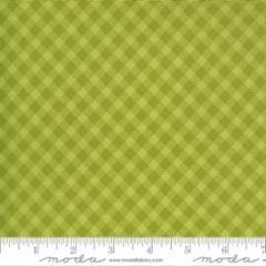 Spring Chicken - Diagonal Gingham - Green
