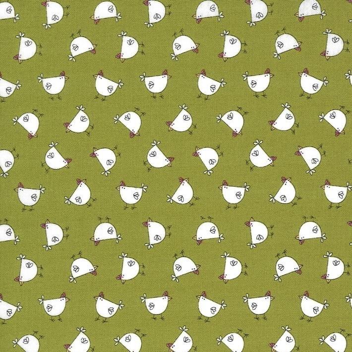 Spring Chicken - Chickens - Green