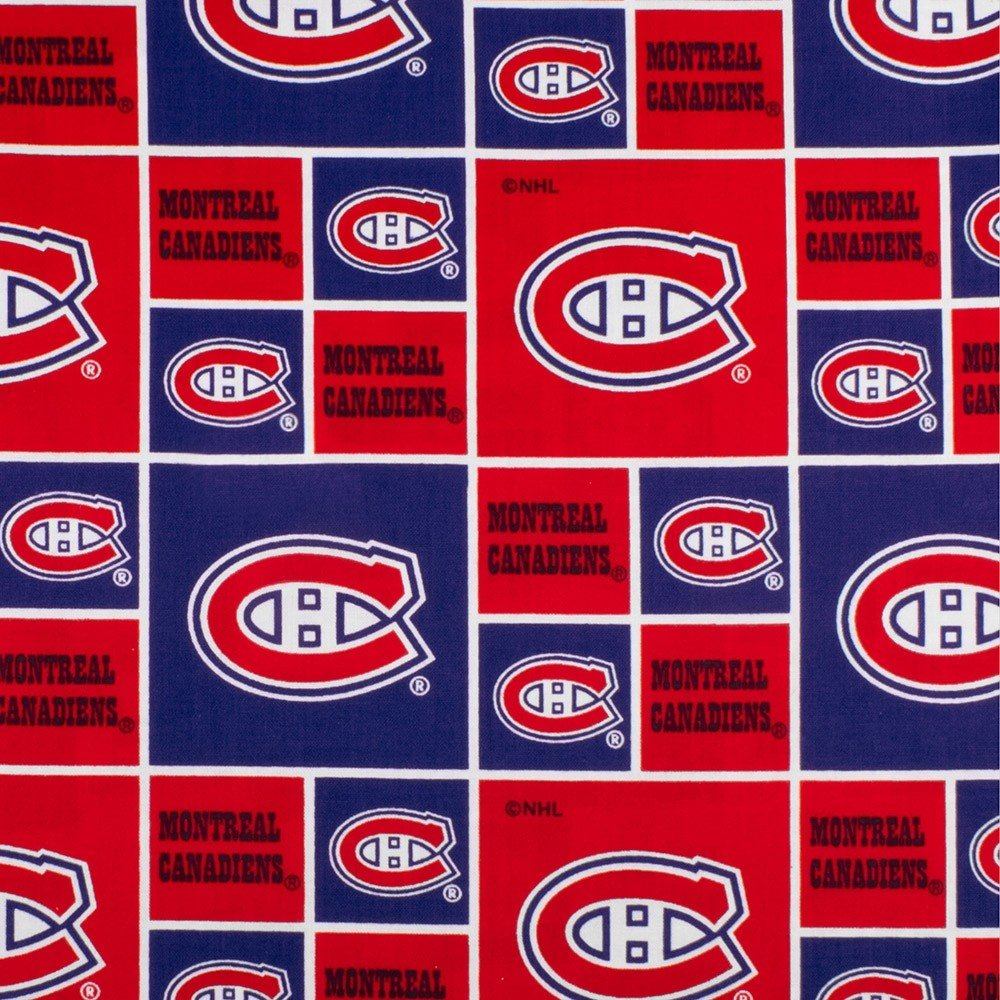 NHL Fabric - Montreal Canadiens
