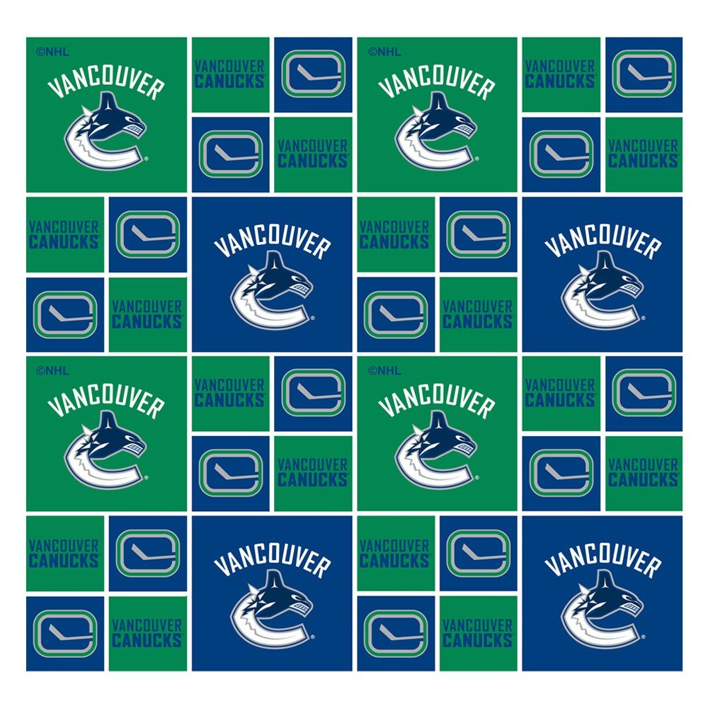 NHL Fabric - Vancouver Canucks