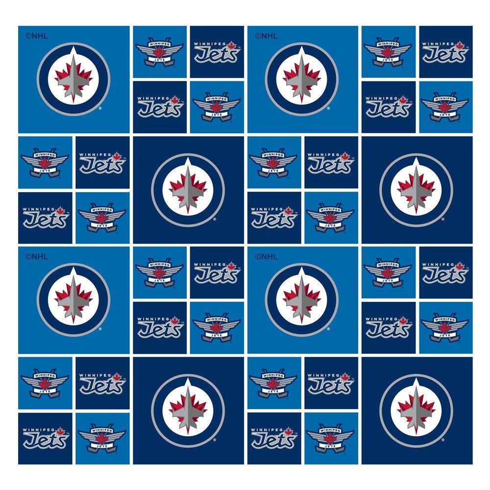 NHL Fabric - Winnipeg Jets