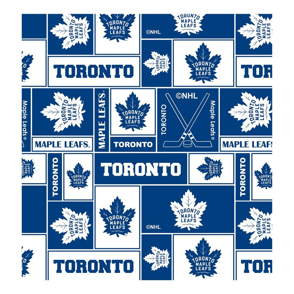 NHL Fabric - Toronto Maple Leafs