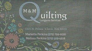 M&M Quilting