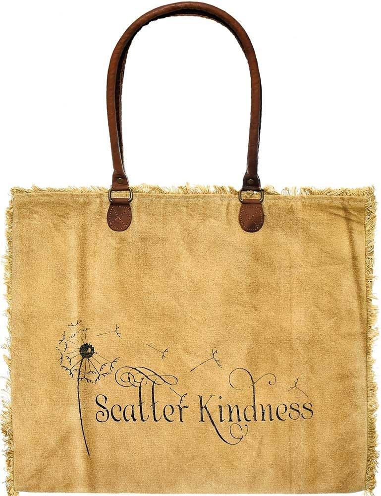 Market Tote Scatter Kindness (Camel)
