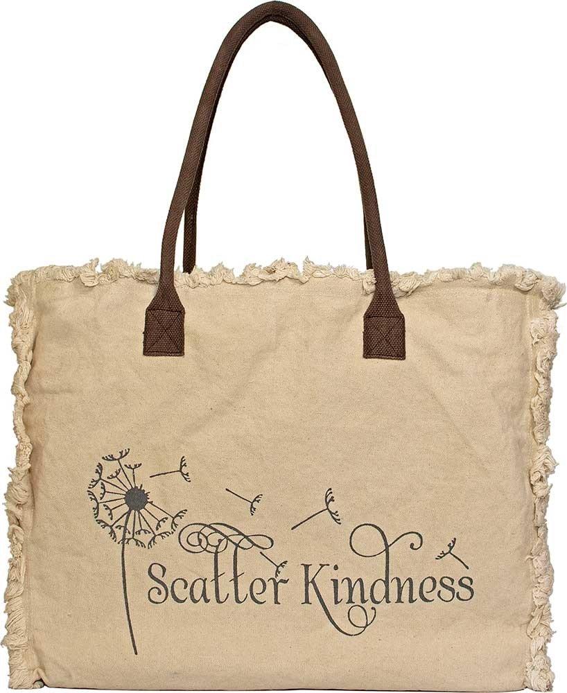 Market Tote Scatter Kindness (Ivory)