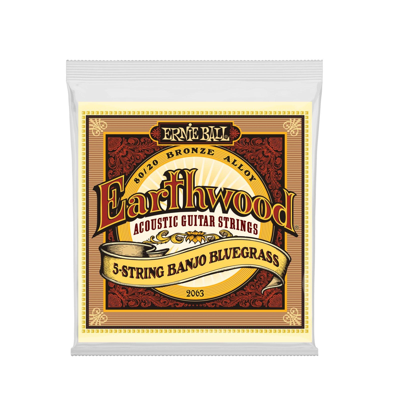 Earthwood 5-String Banjo - Bluegrass 80/20 Bronze - Loop End