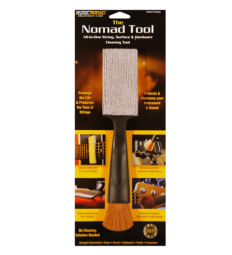 Music Nomad All in 1 String Surface and Hardware Cleaning Tool