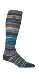 Everyday S Womens Ithaca Striped Socks FF-9695-302-BNPT-WS