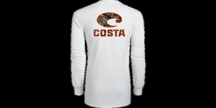 Costa Long Sleeve White Camo