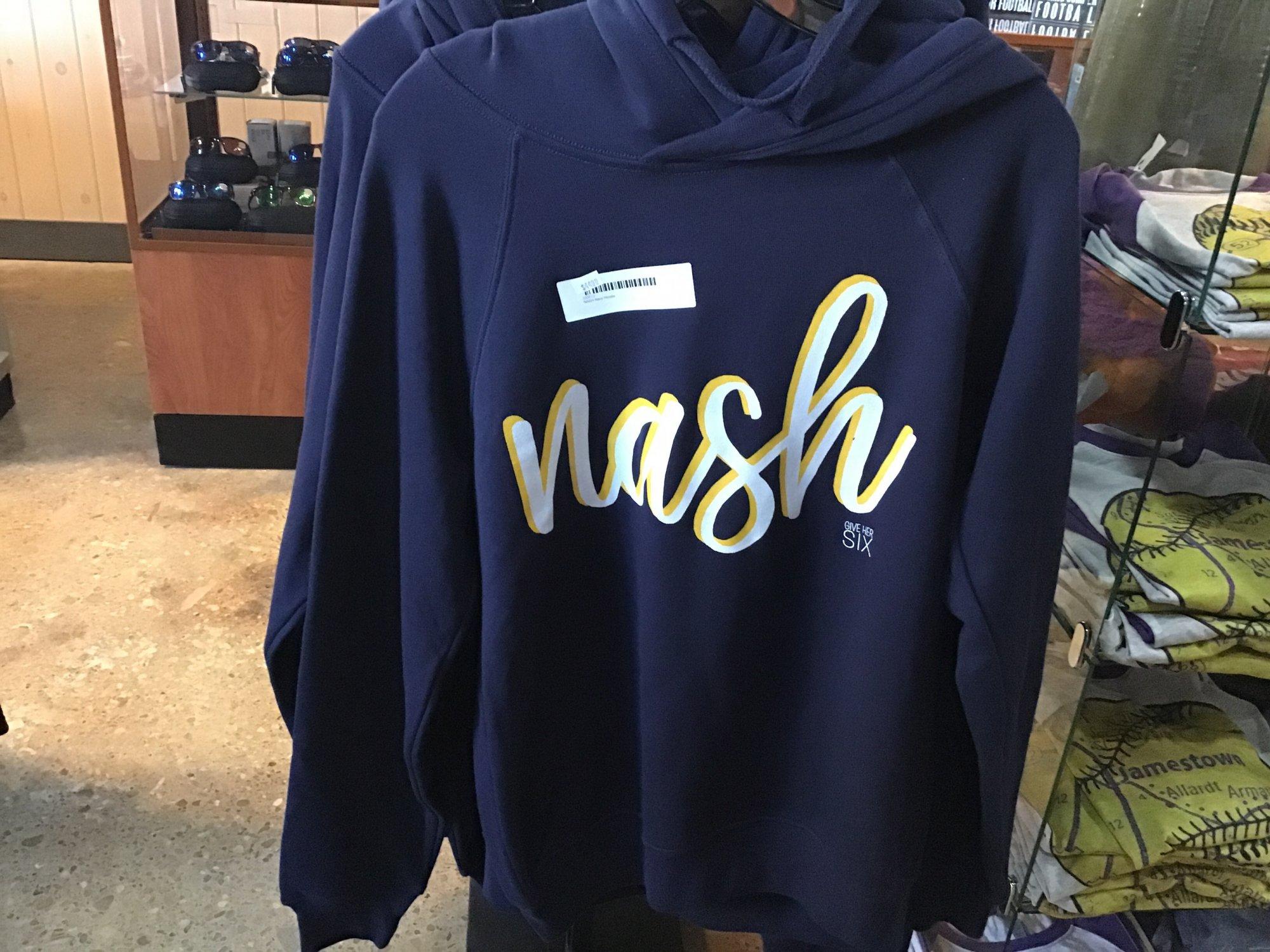 NASH Navy Hoodie