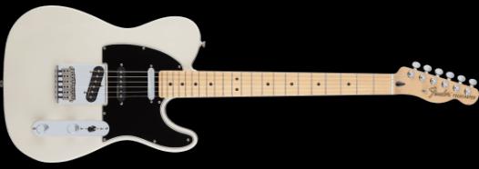Fender Deluxe Nashville Telecaster, Maple Fingerboard, White Blonde 0147502301