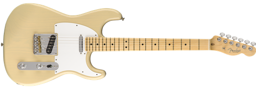 Fender Limited Edition Whiteguard Stratocaster Guitar, Maple Fingerboard, Vintage Blonde Guitar 0176062707