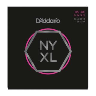 D'addario NYXL0940BT Nickel Wound, Balanced Tension Super Light, 09-40