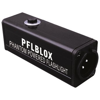 Rapco PFLBLOX Phantom Powered Flashlight