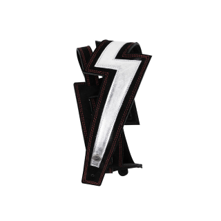 D'Addario 25LNBT00 Lightning Bolt Suede Guitar Strap