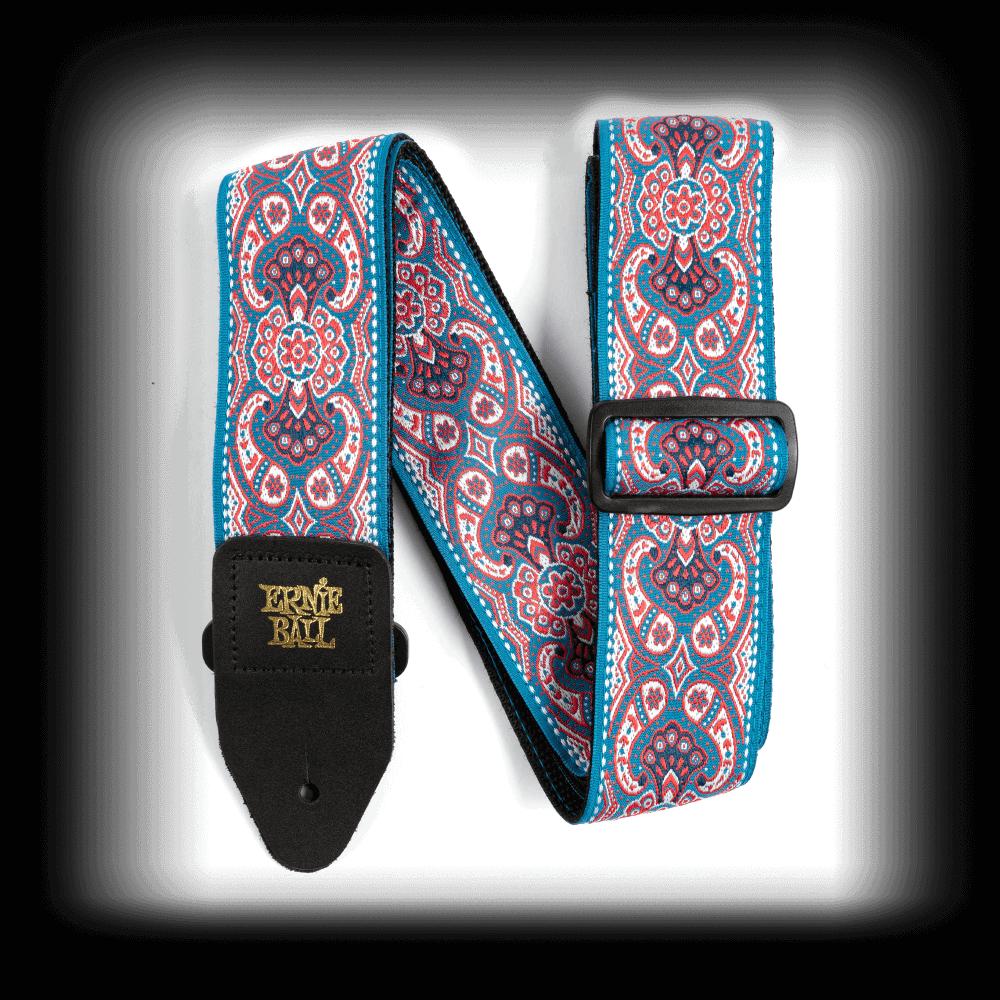 Ernie Ball Pink Paisley Jacquard Guitar Strap P04666