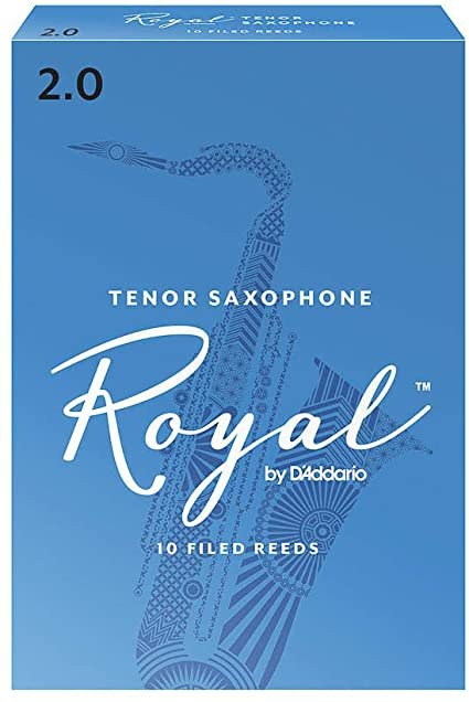 Rico Royal Tenor Sax 2.0 - 10 Pack RKB1020